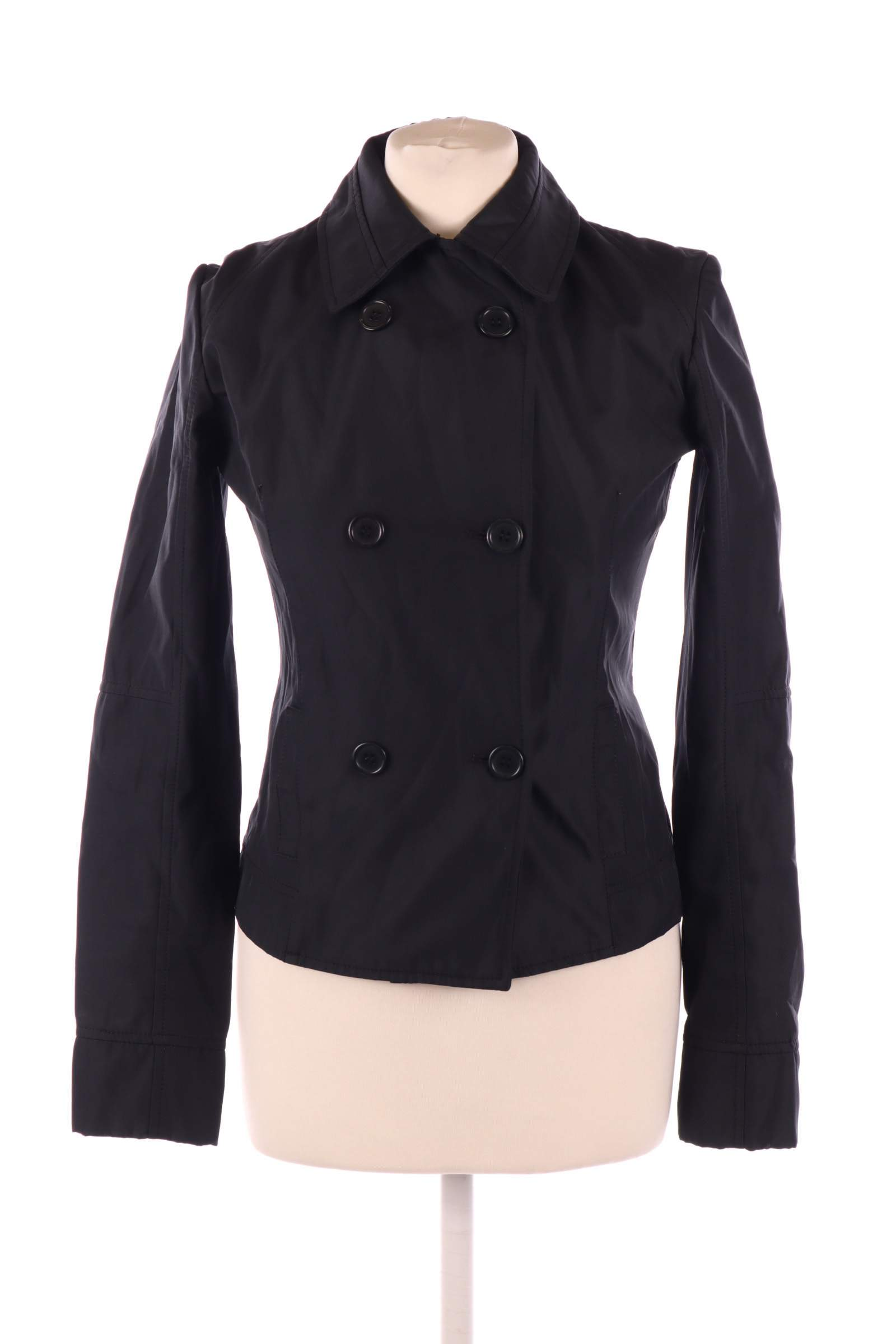 sasch Black Coat - upty.store