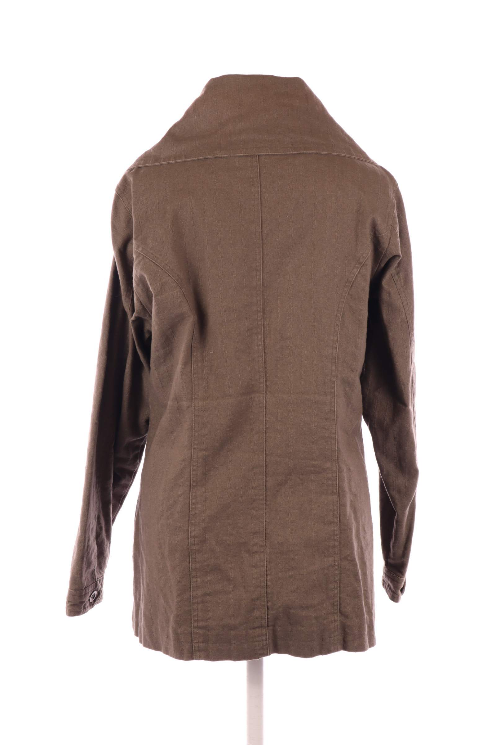 Casual by Earth Brown Coat - upty.store
