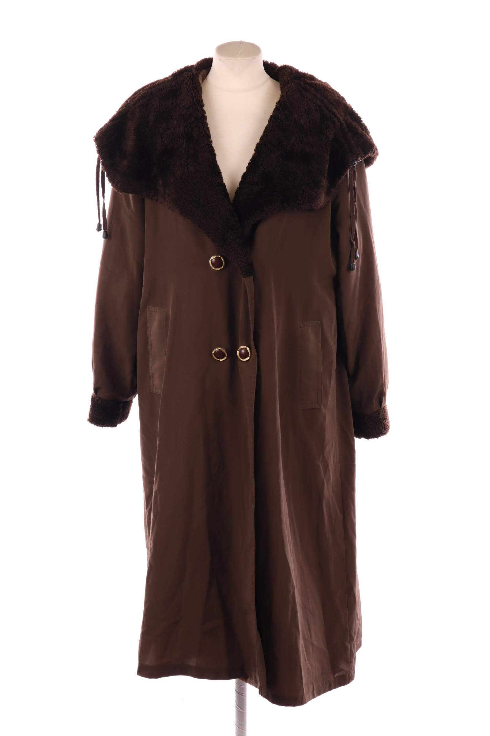 Don Marco Brown Coat - upty.store