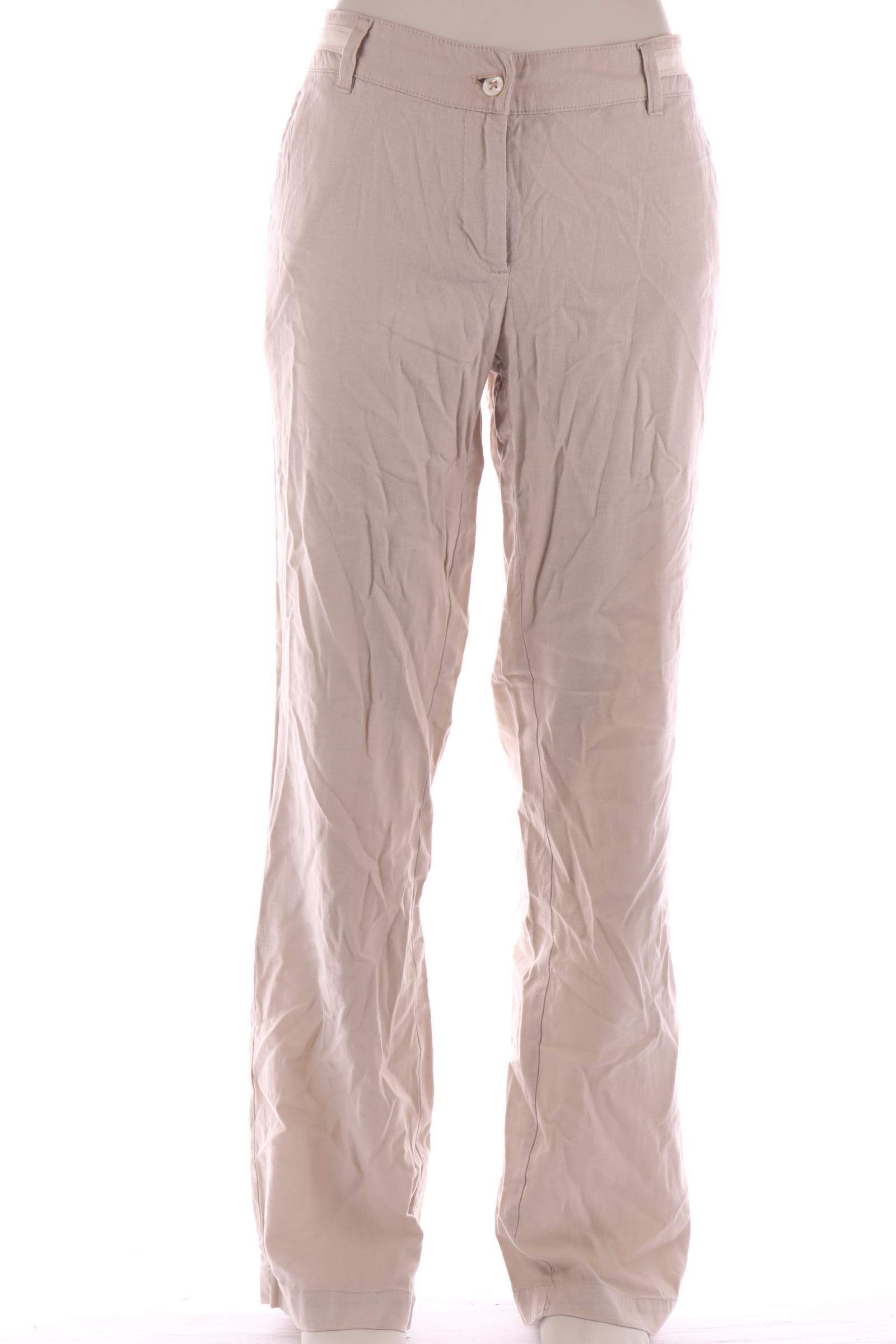 Mosaic Beige Pants - upty.store
