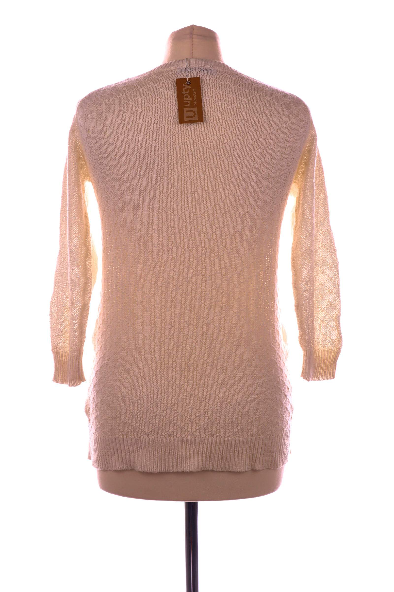 Stradivarius White Sweater