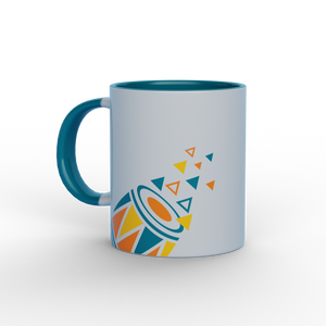Dholak Multicolour Ceramic Mug