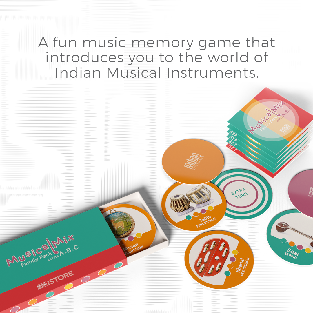 Musical Mix Memory Game Family Pack