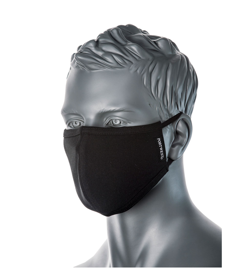 Plain 5 pack - Black (from $10.99 NZD per mask) - New Zealand Face Masks