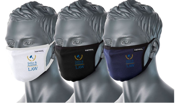 Custom printed - 2 colours (from $10.00 -$13.99 NZD) - New Zealand Face Masks