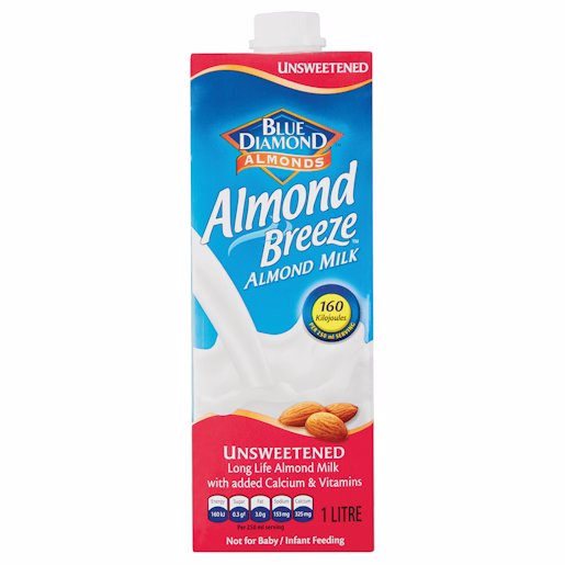 ALMOND BREEZE UNSWEETENED 1LT