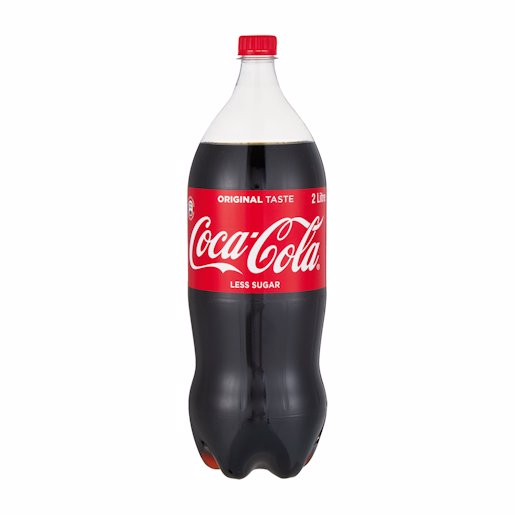 COKE BOTTLE PET 2LT