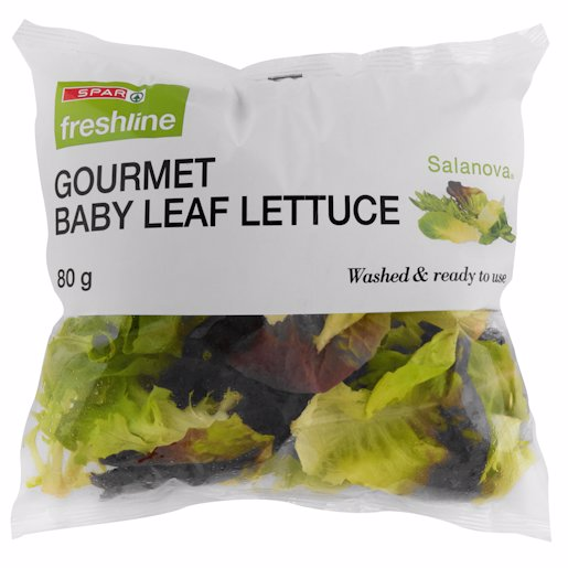 F/L BABY LEAF SALAD MIX 80GR