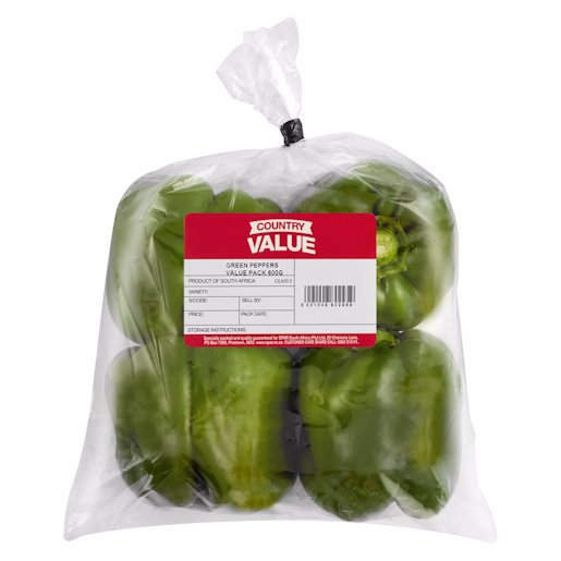 C/VALUE PEPPER GREEN 600GR