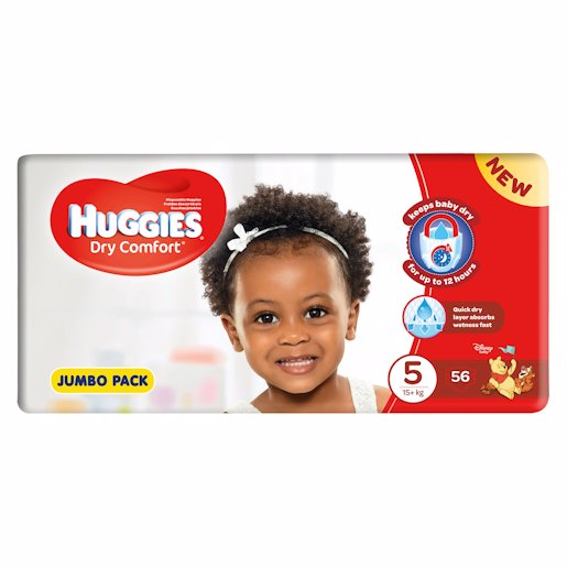 HUGGIES D/COMF JP JUN 5 56'S