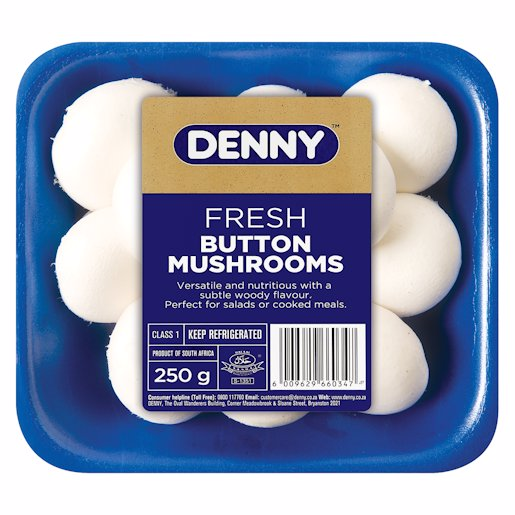 DENNY M/ROOM WHITE BUTTON 250G