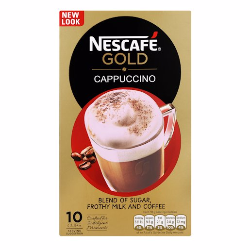 NESCAFE CAPPUCCINO STICKS 10'S