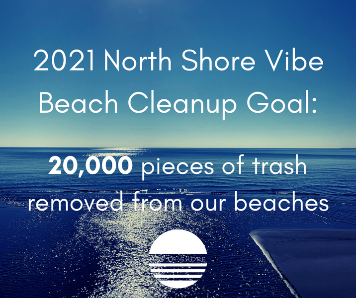 2021 Beach Cleanup Goal - Our commitment to protecting Lake Michigan