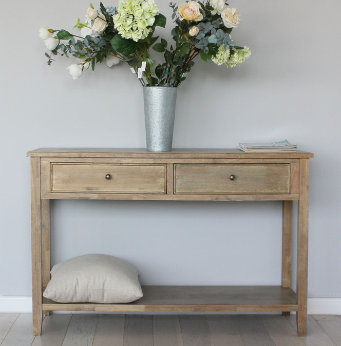 Console Table, Natural