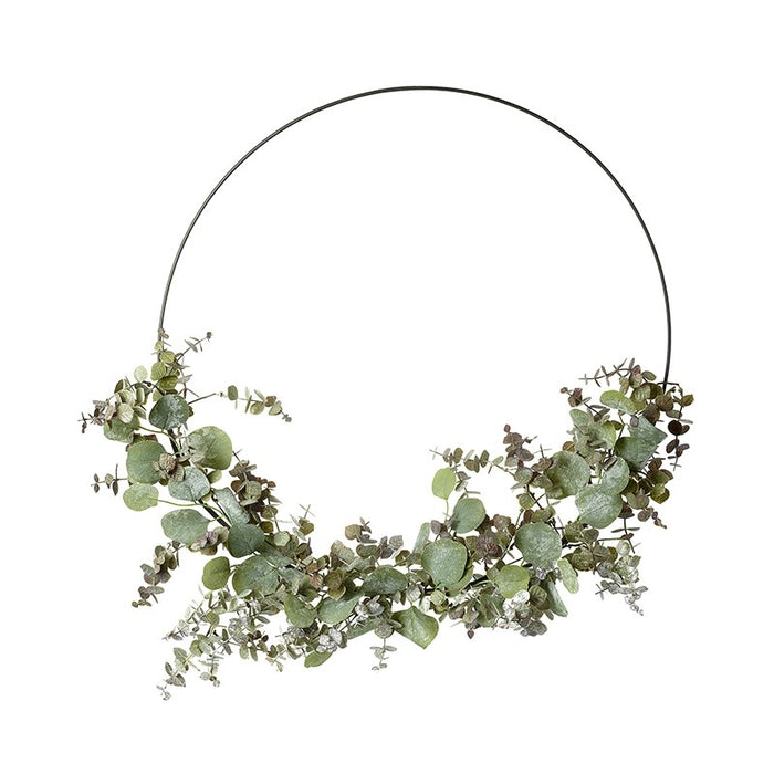 Hoop Wreath With Green Foliage - Large