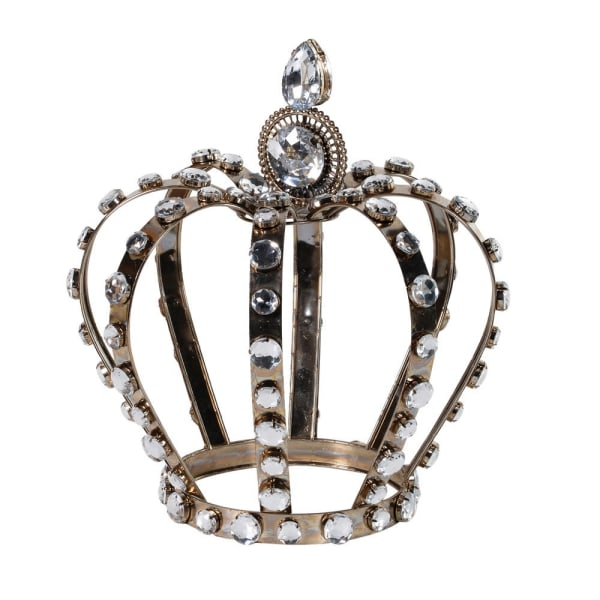 Fabulous decorative crown with crystals