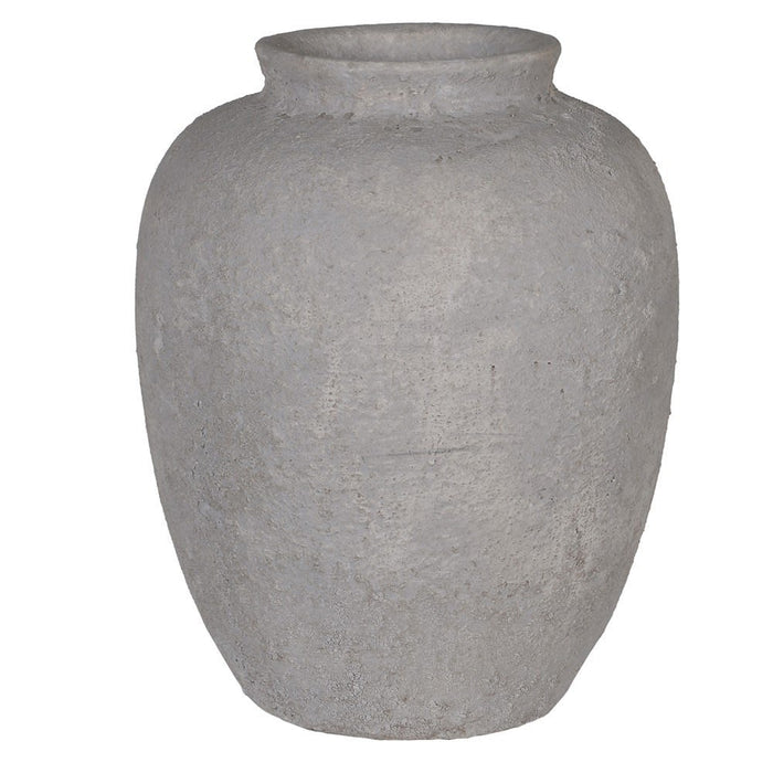 Large Rustic Clay Vase