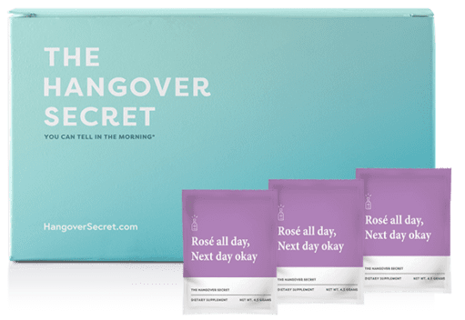 Hangover Secret Supplement Go-Packs (with Electrolytes)