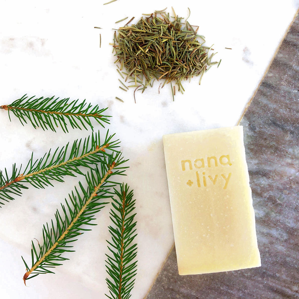 Handmade Rosemary Shampoo Soap Bar
