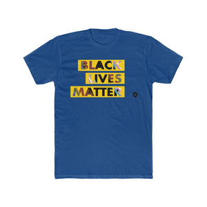 Black Lives Matter Gender Neutral Cotton Crew Tee