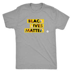 Black Lives Matter All Gender Triblend