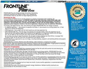 Frontline Plus Flea and Tick Treatment for Medium Dogs (23-44 Pounds) (3 Doses)