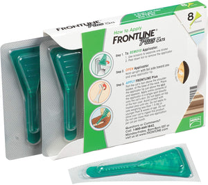 FRONTLINE Plus Flea and Tick Treatment for Cats (8 Doses)