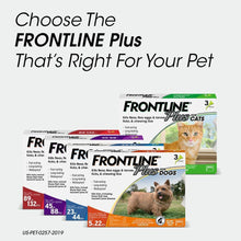 Load image into Gallery viewer, FRONTLINE Plus Flea and Tick Treatment for Cats (3 Doses)