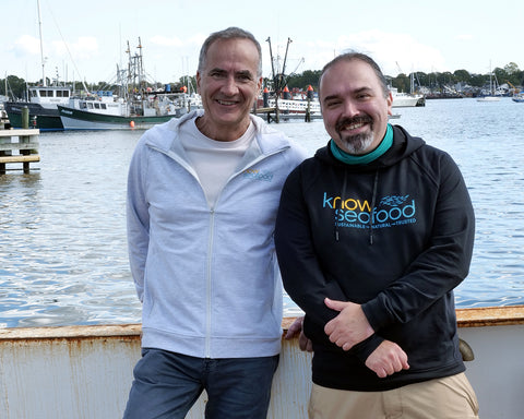 Daniel McQuade and Paul Neves, co-founders of KnowSeafood