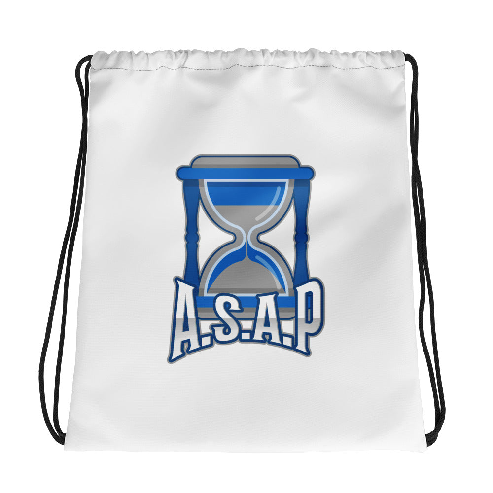 ASAP Logo Drawstring bag