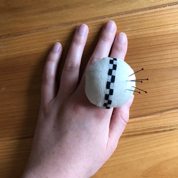Pincushion Ring in Casablanca
