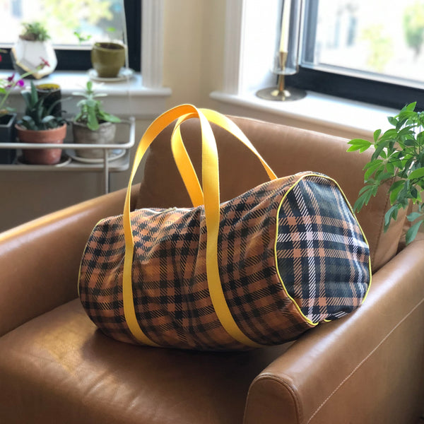 Duffel Bag in Studio Plaid