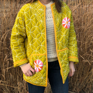 Hand-Quilted Jacket