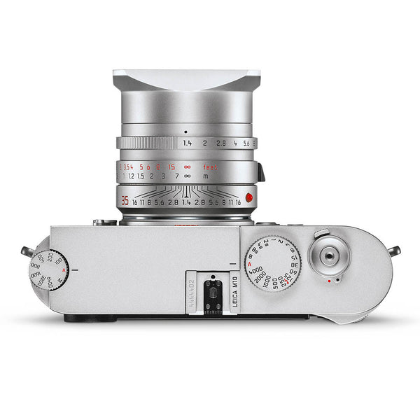 LEICA M10 Silver Chrome (Available in August 2017)