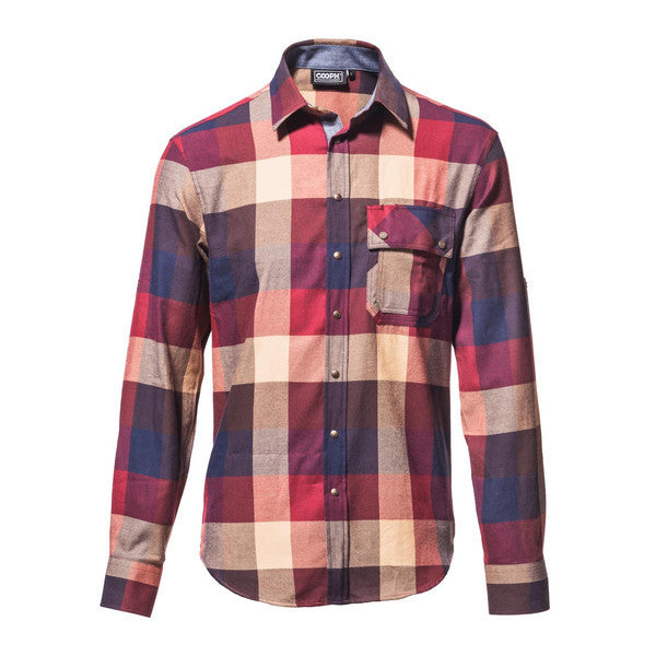 COOPH Photographer long sleeve shirt / laid-back