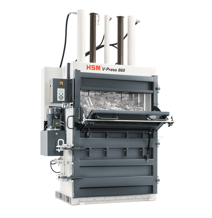 Prensa Vertical HSM V-Press 860