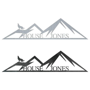 Mountain House Monogram