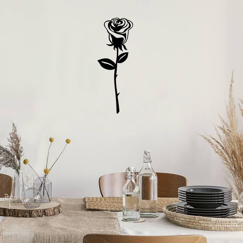 Rose - Metal Decor