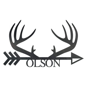 Antler Arrow Monogram