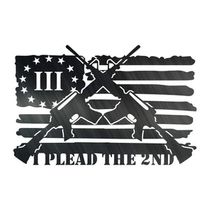 Plead the 2nd flag