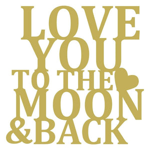 Moon & Back Love