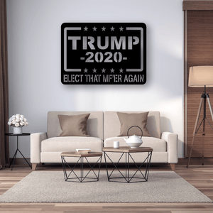 Trump 2020 Plaque