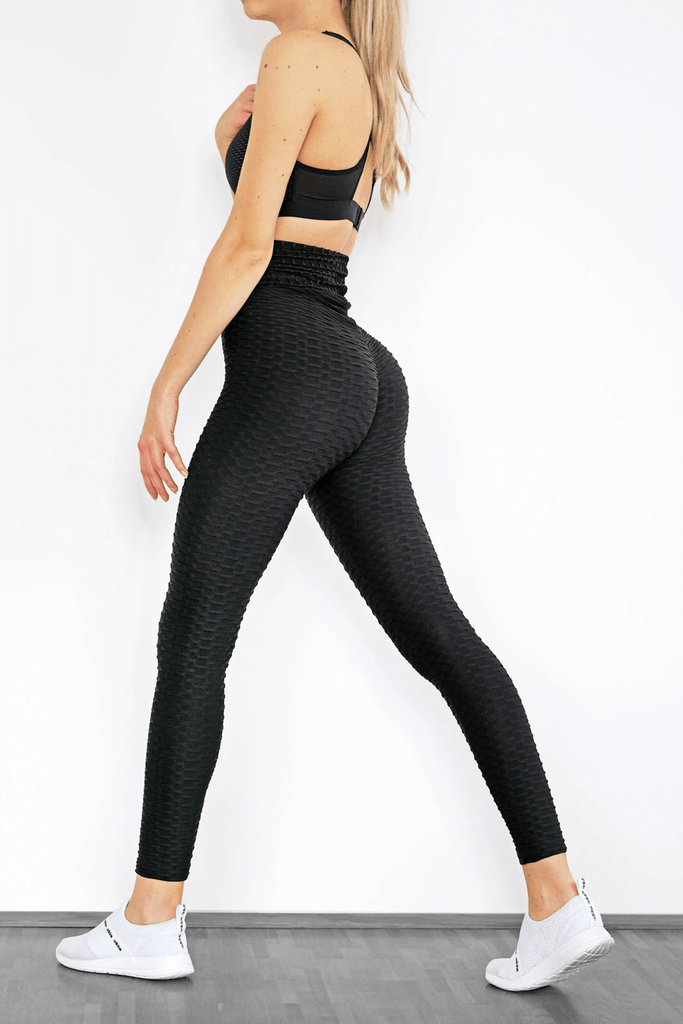 LUXZIO Schwarz / S LIFTE™ ANTI CELLULITE BOOTY SHAPING LEGGINGS