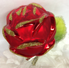 Clip On Red Rose Ornament by Inge Glas in Neustadt bei Coburg