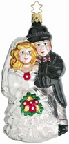 Bridal Couple Ornament by Inge Glas in Nuestadt bei Coburg
