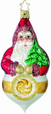 Santa Reflection Ornament by Inge Glas in Neustadt bei Coburg