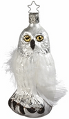 Winter's Snow Owl Ornament by Inge Glas in Neustadt bei Coburg