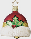 Bavarian Santa Hat Bell Ornament by Inge Glas