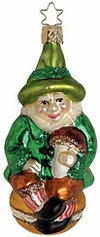 Lucky Leprechaun Ornament by Inge Glas