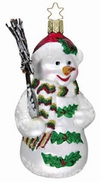 Holly Jolly Snowman Ornament by Inge Glas in Neustadt bei Coburg